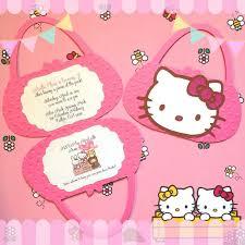 hello kitty birthday invitations free ideas hello kitty party