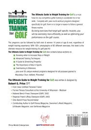 ultimate guide to weight training for golf rob price