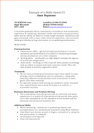 Problem Solving Skills Examples Resume by Resume Examples Skills Based Augustais