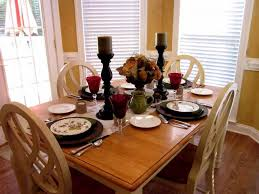 dinning dining table centerpieces kitchen table decor floral