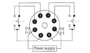 contoh penggunaan atau wiring diagram timer omron elektronika