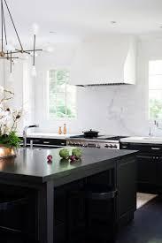 best ideas about black kitchen island pinterest farm gorgeous modern white kitchen with black island ella scott design classic copper