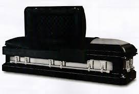 black caskets black stallion steel casket eternity memorial products