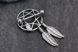 nipple rings jewelry images Dream catcher nipple jewelry dreamcatcher nipple ring feather jpeg