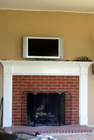Brick Look Laminate Flooring White Fireplace Mantel With Carving Grey Fireplace And Black Metal