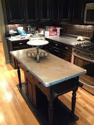 metal top kitchen island metal top kitchen island turned out to replace the butcher