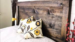 How To Make Headboard How To Make A Charming Rustic Headboard For Only 20