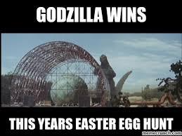 Godzilla Meme - easter