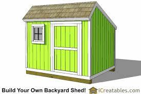 backyard sheds plans 8x10 saltbox shed plans front jpg