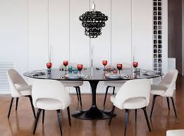 Black And Wood Dining Table How To Use Black To Create A Stunning Refined Dining Room