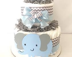 elephant diaper cake etsy