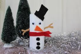 diy cardboard roll snowman a cute holiday craft