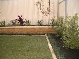 Timber Garden Edging Ideas Garden Edging Gold Coast Greenmillenium Landscapes