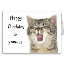 tag for happy birthday card with cat happy belated birthday