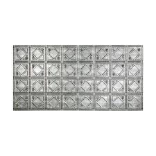 Decorative Metal Sheets Home Depot Silver Ceiling Tiles Ceilings The Home Depot