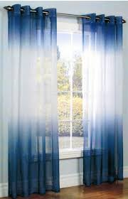 blue sheer curtains ideas med art home design posters