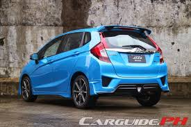 honda jazz car price review 2014 honda jazz 1 5 vx mugen carguide ph philippine