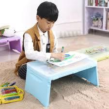 Laptop Desks For Bed Sufeile Children S Folding Computer Desk Plastic Storage Table