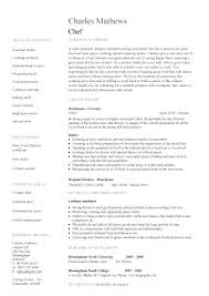 Example Of Chef Resume 100 Personal Chef Resume Sample How To Write An Essay 5th Grade