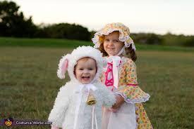 Lamb Halloween Costume Bo Peep Sheep Halloween Costumes Photo 4 5