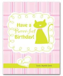 printable cat birthday card template