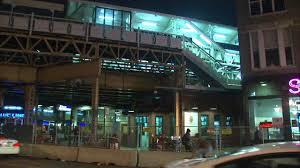 cta blue line damen station re opens in wicker park abc7chicago com