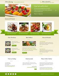 10 best restaurant landing page templates free u0026 premium templates