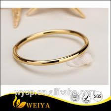 simple gold bangle bracelet images 2016 latest simple design steel wire bracelet women gold plated jpg