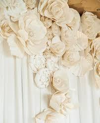 wedding backdrop paper flowers wedding paper flowers wedding corners