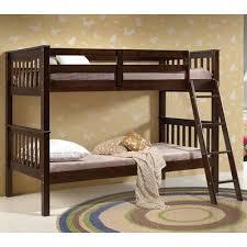 ACME Furniture Searra Twin Over Twin Bunk Bed  Reviews Wayfair - Furniture bunk beds