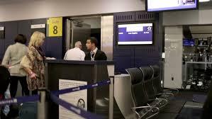 New York travelers stock images New york nov 15 2014 air travelers boarding airplane flight at jpg