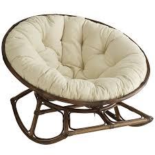 furniture comfortable red papasan chair ikea with dark rattan