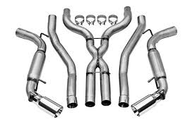 2013 camaro exhaust amazon com dynomax 39496 stainless steel exhaust system automotive