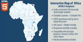 africa map all countries interactive map of africa by art101 codecanyon