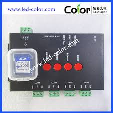 programmable pixel led light controller t8000a t8000c ws2811 led