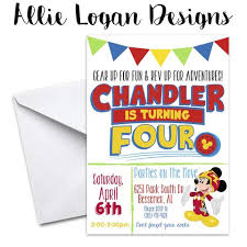 custom personalized birthday invitations by allie logan designs