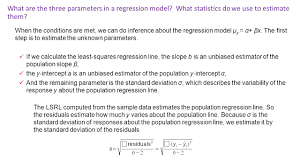 12 1 inference for linear regression objectives swbat check the