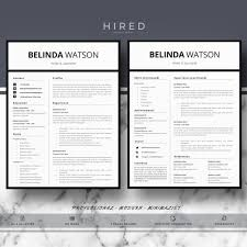 modern word resume templates professional resume template cv template editable in ms word and professional modern and minimalist resume template for word resume size letter or a4