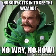 Wizard Of Oz Meme - oz s door shuts