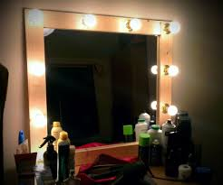 Dressing Room Mirror Lights Backstage Mirror 6 Steps