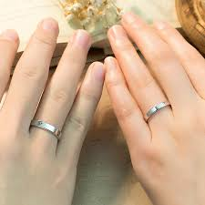 personalized rings for forever engraved promise rings for couples personalized flat