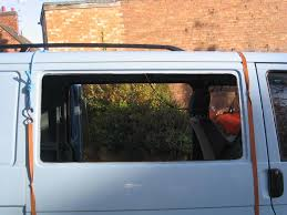 fitting windows in a camper van conversion campervan life