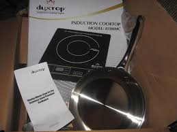 Portable Induction Cooktops Reviews Duxtop 1800 Watt Portable Best Induction Cooktop Reviews 2016