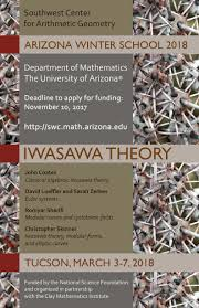 southwest center for arithmetic geometry welcome