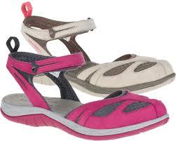 womens merrell real leather sandal strap waterproof walking summer