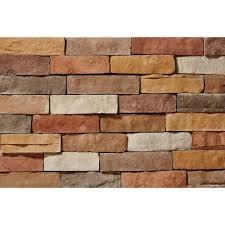 stone brick faux stone stone veneer the home depot