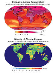 World Temperatures Map by Change Occurring 10 Times Faster Than At Any Time In Past 65