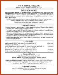 radiologic technologist resume skills radiologic technologist resume resume for day care worker top