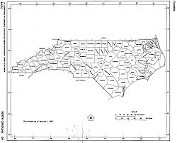 north carolina outline maps and map links