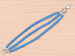 4 ways to make a beaded bracelet wikihow